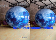 Led Lighting Giant Inflatable Moon Globe Balloon For Outdoor Decoration