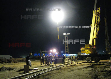 Road Paving Site Glare miễn phí Balloon Lights Trong LED / Vonfram / HMI Fit Road Paving Site